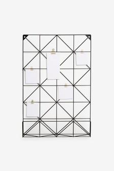 Wire Grid Memo Board