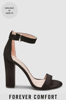 Barely There Block High Sandals