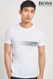 19daf0b41d Buy Men's tops Tops White White Tshirts Tshirts Boss Boss from the ...
