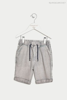Angel & Rocket Grey Jersey Denim Short