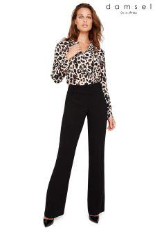 Damsel In A Dress Black Amelia City Suit Trousers