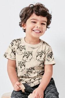 Leopard Print T-Shirt (3mths-7yrs)