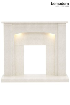 Somerton Marble Fireplace By Be Modern