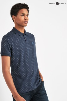 Pretty Green Kompany Polka Dot Polo