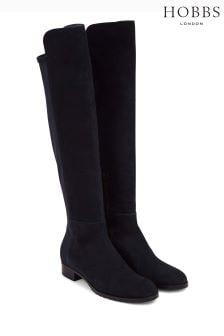 Hobbs Blue Lorna Stretch Boot