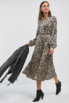 f08f9b367ff4 Animal Print Dresses | Leopard & Snake Print Dresses | Next Ireland