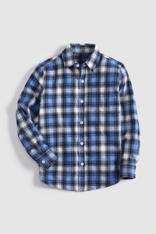 Long Sleeve Flannel Check Shirt (3-16yrs)