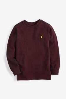 Long Sleeve Pique T-Shirt (3-16yrs)