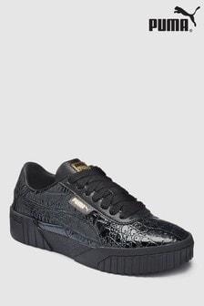 Puma® Black Croc Cali Trainers