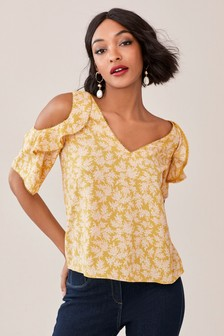 ace7687508270 Buy Women s tops Tops Coldshoulder Coldshoulder from the Next UK ...