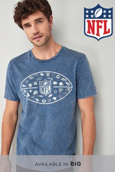 Acid Wash NFL T-Shirt