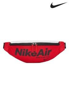 Nike Air Heritage 2.0 Black/Red Hip Pack