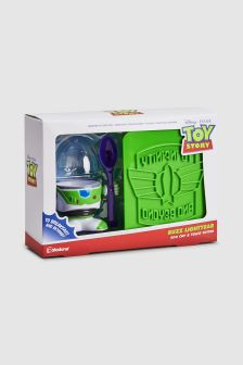 Disney™ Buzz Lightyear Egg Cup And Toast Cutter