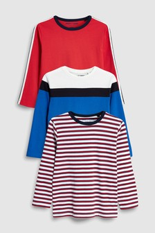 Stripe Retro T-Shirts Three Pack (3-16yrs)