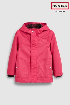 Hunter Kids Pink Original Cotton Rain Jacket