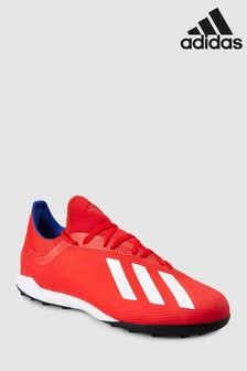 adidas Red Exhibit X Turf
