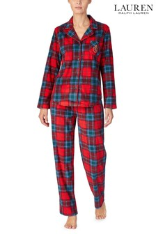 Lauren Ralph Lauren® Red Plaid Pyjama Gifting Set