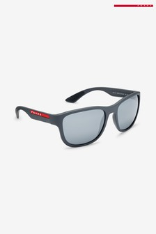 Prada Sport Grey Rubber Sunglasses