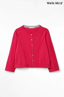 White Stuff Red Press Organic Cotton Cardigan