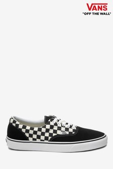 Vans Black/White Check Era Trainer