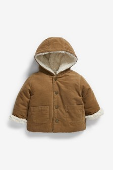 Cord Borg Lined Jacket (0mths-2yrs)