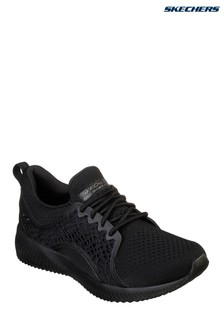 Skechers® Black Bobs Squad Pocket Ace Trainer