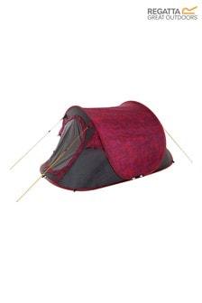 Regatta Pink Malawi Printed 2 Person Pop-Up Tent
