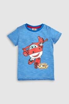 Kurzärmeliges Super Wings T-Shirt (3Monate bis 6Jahre)