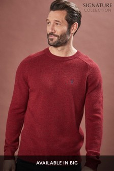 Lambswool Crew Jumper