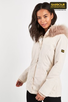 Barbour® International Oyster Waterproof Beemer Jacket