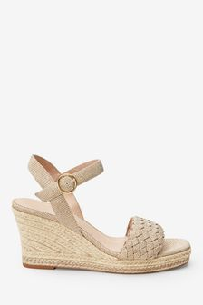 e0b2b63bb7 Wedges | Espadrille & Leather Wedges | Next UK