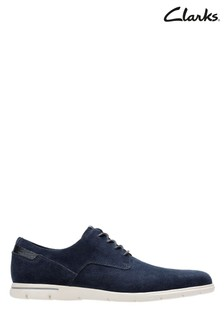Clarks Blue Vennor Walk Shoe