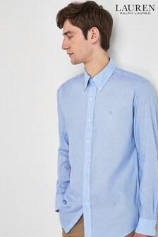 Lauren Ralph Lauren® Stripe Linen Long Sleeve Shirt