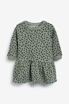 Printed Sweat Dress (3mths-7yrs)