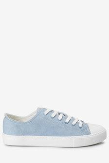 נעלי ספורט עם שרוכים מקנבס