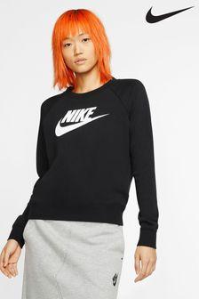 Nike Essential Fleece Logo Crew