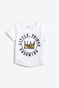 חולצת טי Little Prince Charming (3 חודשים-7 שנים)