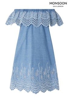 Monsoon Aleaha Chambray Dress