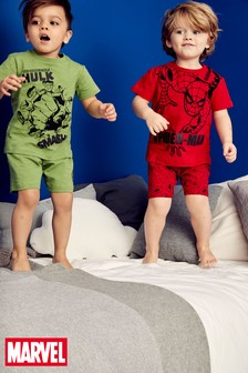 Spider-Man™/ Hulk Pyjamas Two Pack (9 mois - 8 ans)