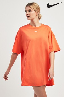 Nike Essential Orange T-Shirt Dress