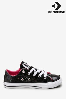 Converse Glitter Low Youth Trainers