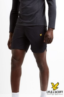 Lyle & Scott Sport Black Running Short