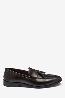 Hi Shine Tassel Loafers