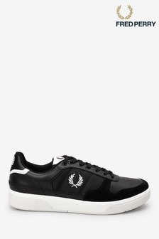 Fred Perry Aubrey Leather Trainers