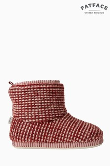 FatFace Pink Lucy Knitted Boot