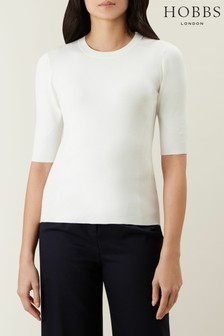 Hobbs Cream Rachel Sweater