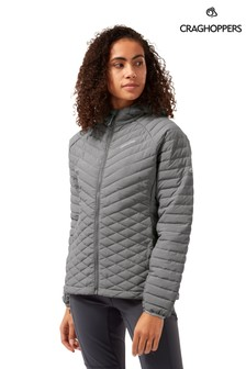 Craghoppers Grey ExpoLite Hood Jacket