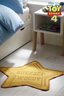 Toy Story 4 Sheriff Badge Rug