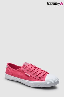 Superdry Low Pro Sneaker, Purpurrot