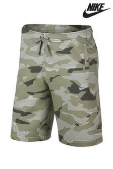 Nike Green Camo Short
